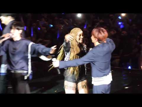 SS7 en Argentina - Super Junior with Leslie Grace & Play-n-Skillz - 180420
