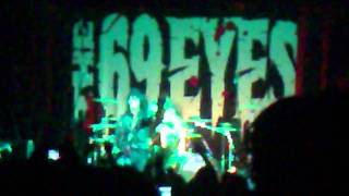 THE 69 EYES - GOTHIC GIRL & LIPS OF BLOOD MEXICO 2010
