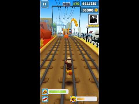 Subway Surfers High Score - 14 Million (14,000,000) (FULL VIDEO - iPod 5)
