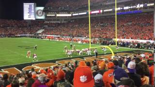 TigerNet.com - Another angle of Renfrow TD catch in National Championship