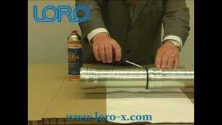 LORO-X dismount pipes Verlegeanleitung / Installation manual