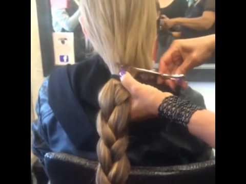 Страшный сон девушки с длинными волосами