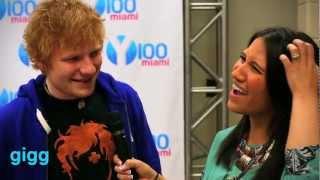 Ed Sheeran at Jingle Ball Miami