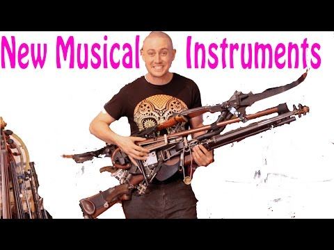 Turning Weapons Into Strange Musical Instruments - Ken Butler Documentary