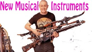 Man Turns Guns and Trash into Strange Musical Instruments - Ken Butler Documentary