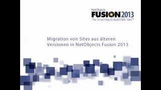 Migration Ihres Homepageprojektes aus einer älteren Versionen von NetObjects nach NetObjects Fusion