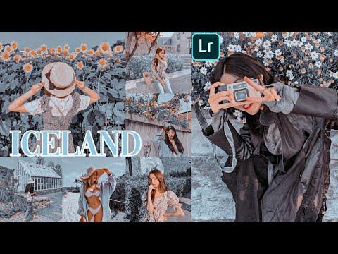 Iceland Preset - Lightroom Mobile Presets Free Dng - Light Tone