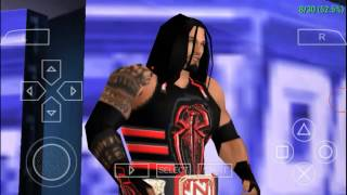 Wwe svr11 : change your psp android game to wwe 2k17 easily