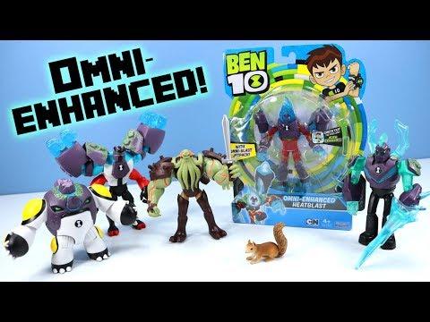 Ben 10 Reboot Omni-Enhanced Action Figures Wave 3 Vilgax Returns!