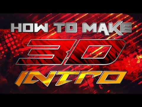 How to make 3D intro on your android || online intro maker without watermark || free intro maker