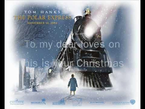 When Christmas comes to town (lyrics)  - Polar Express