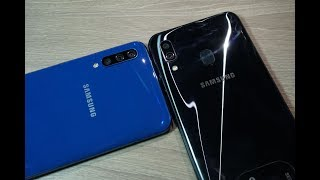 Samsung Galaxy A50 and Galaxy A30 First Look!