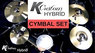 Zildjian - K Custom Hybrid Cymbal Set (Sound Demo)