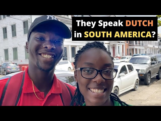 They Speak DUTCH in SOUTH AMERICA? (Suriname)