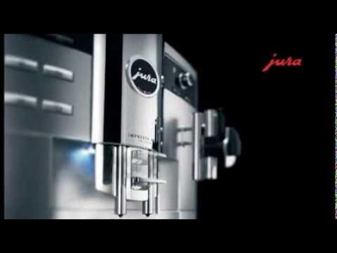 Jura Impressa XS95 Coffee Machine - YouTube