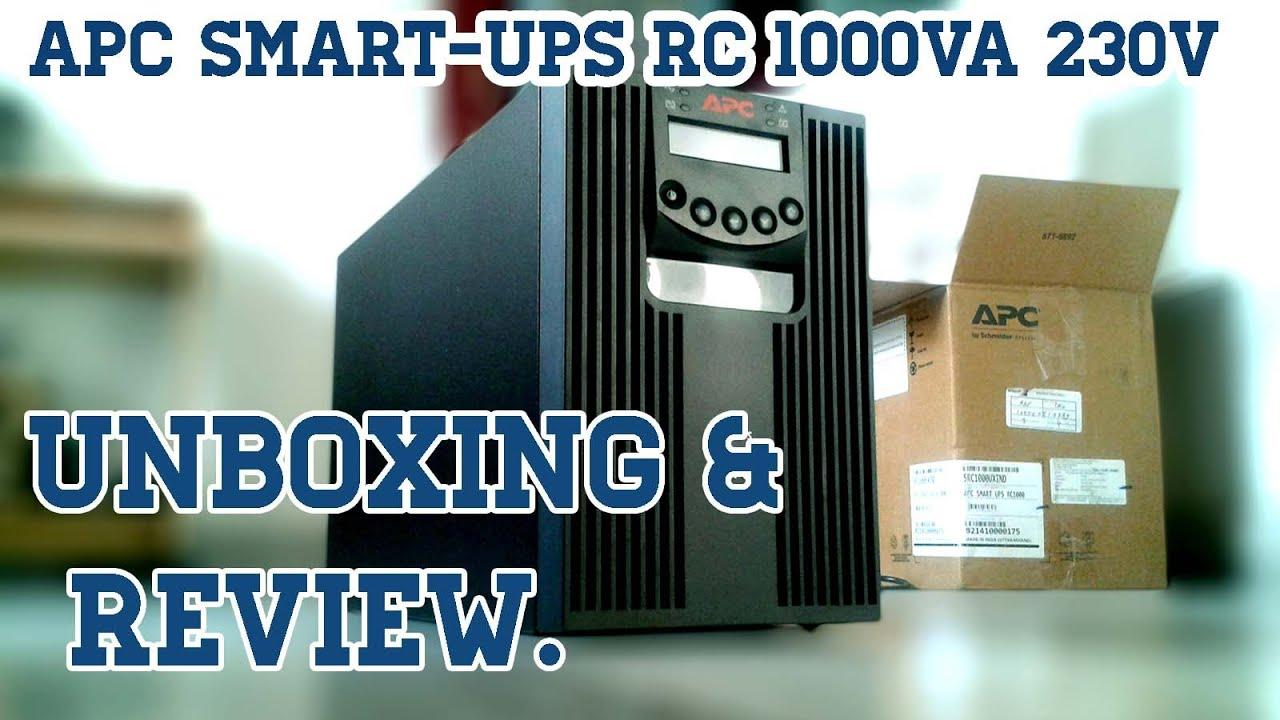APC Smart-UPS RC 1000VA 230V (1 KVA UPS) Unboxing & Review