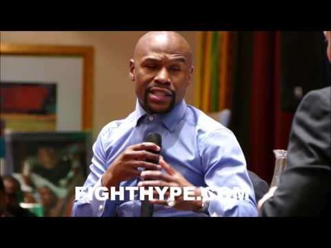 FLOYD MAYWEATHER EXPLAINS HOW HE BEAT MANNY PACQUIOA; REVEALS WHY HE WAS ONE OF THE BEST HE FACED
