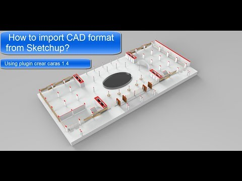 How To Import CAD Format From SketchUp?