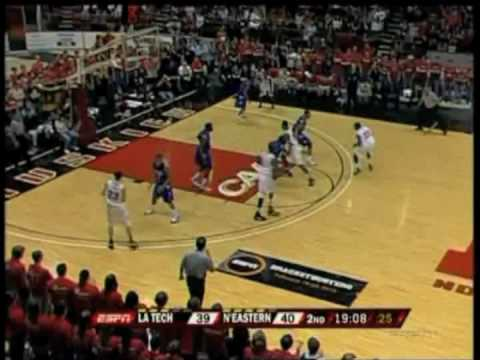 Feb 20, 2010 Northeastern vs  Louisiana Tech Highlights