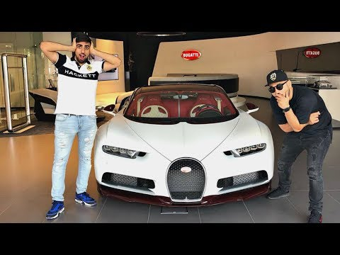 Thumbnail: MY FRIEND BOUGHT A $3.4MILLION BUGATTI CHIRON !!!