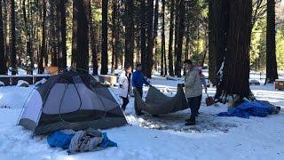 Snowcamping in Yosemite