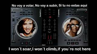 david guetta ft usher without you  lyrics-letra ingles-español