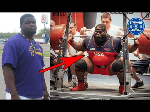 Ray Williams 6 Year Squat Transformation (400 kg to 490 kg)