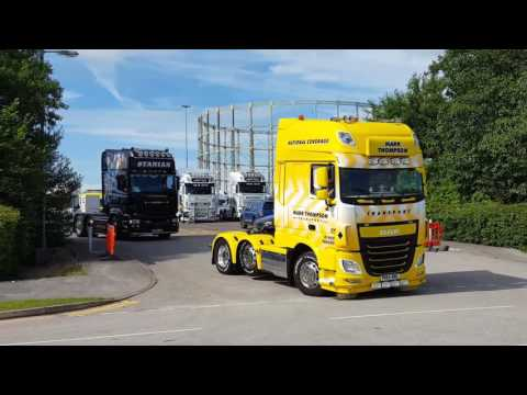 Great North West  Truck Show Part 2 July 2017