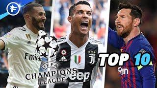 Le Top 10 des meilleurs buteurs de la Ligue des champions