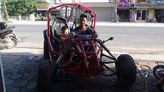 Xe Chế Của Thanh Niên 9X Hải Dương/The most exclusive vehicle in Vietnam