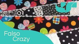 Reaproveitando sobras de tecido – Falso crazy