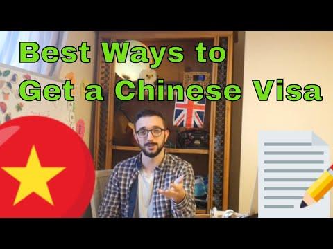 Best Ways To Get A Chinese Tourist Visa