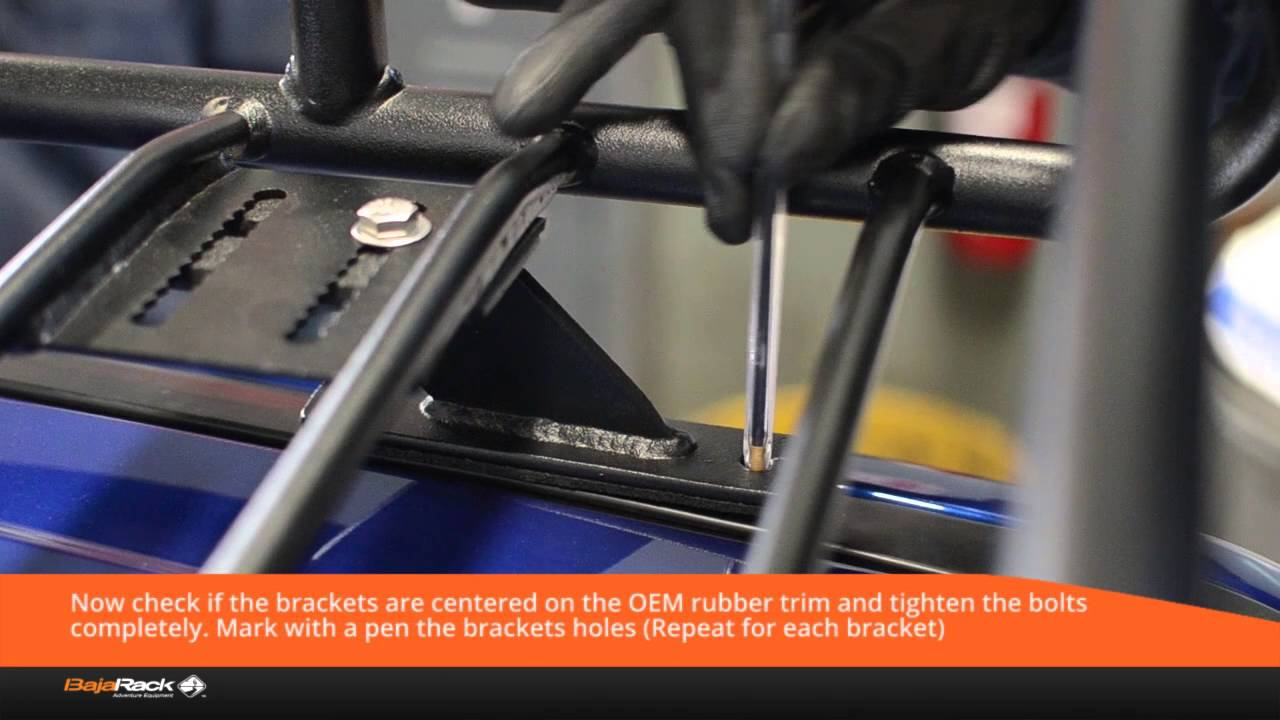 How To Install A Bajarack Roof Rack To An Ford Ranger