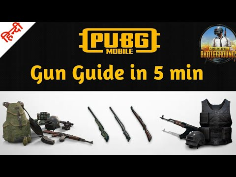 Ultimate PUBG MOBILE Weapon Guide