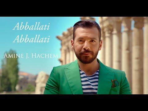 Abballati Abballati | Sicilian Song - Amine J Hachem [Official Video]