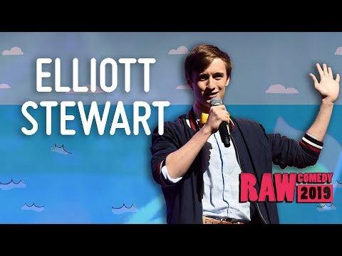 Elliott Stewart (NSW) - RAW Comedy National Grand Final 2019