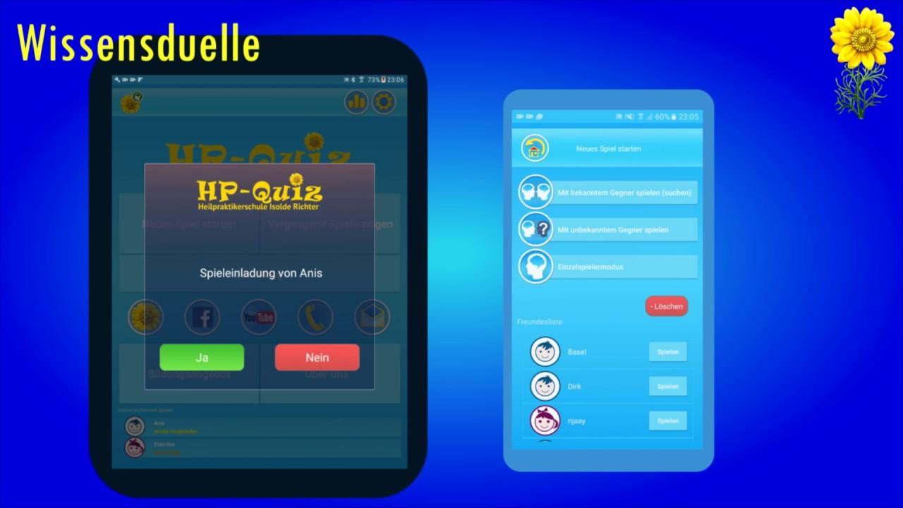 heilpraktikerschule isolde richter hp quiz app werbung youtube. Black Bedroom Furniture Sets. Home Design Ideas