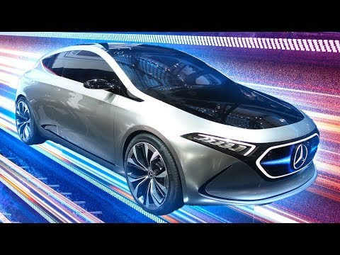 Mercedes EQA concept: A sexy electric hatchback for the real world [Frankfurt 2017]