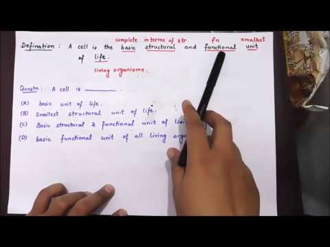 Biology   cell theory part 1   useful for ssc bank cgl mts cpo chsl railway loco pilot