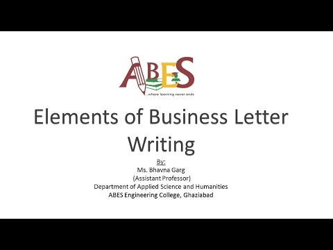 Elements Of Business Letter from i.ytimg.com