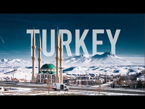 TRAVELING TURKEY | 4K Cinematic Vanlife Lockdown