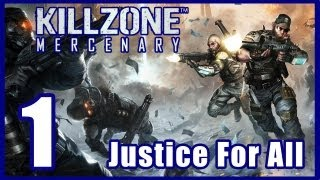Killzone: Mercenary Walkthrough PART 1 Lets Play Gameplay [PS Vita] TRUE-HD QUALITY