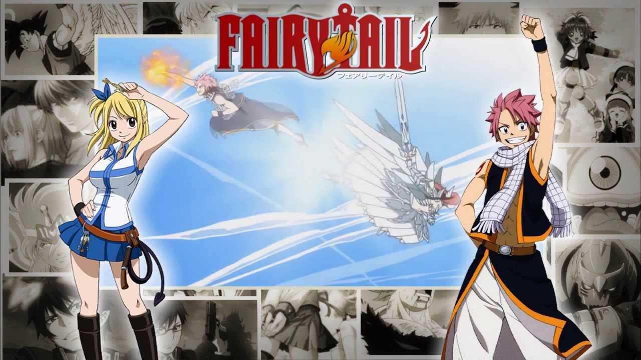 musica da primeira abertura de fairy tail