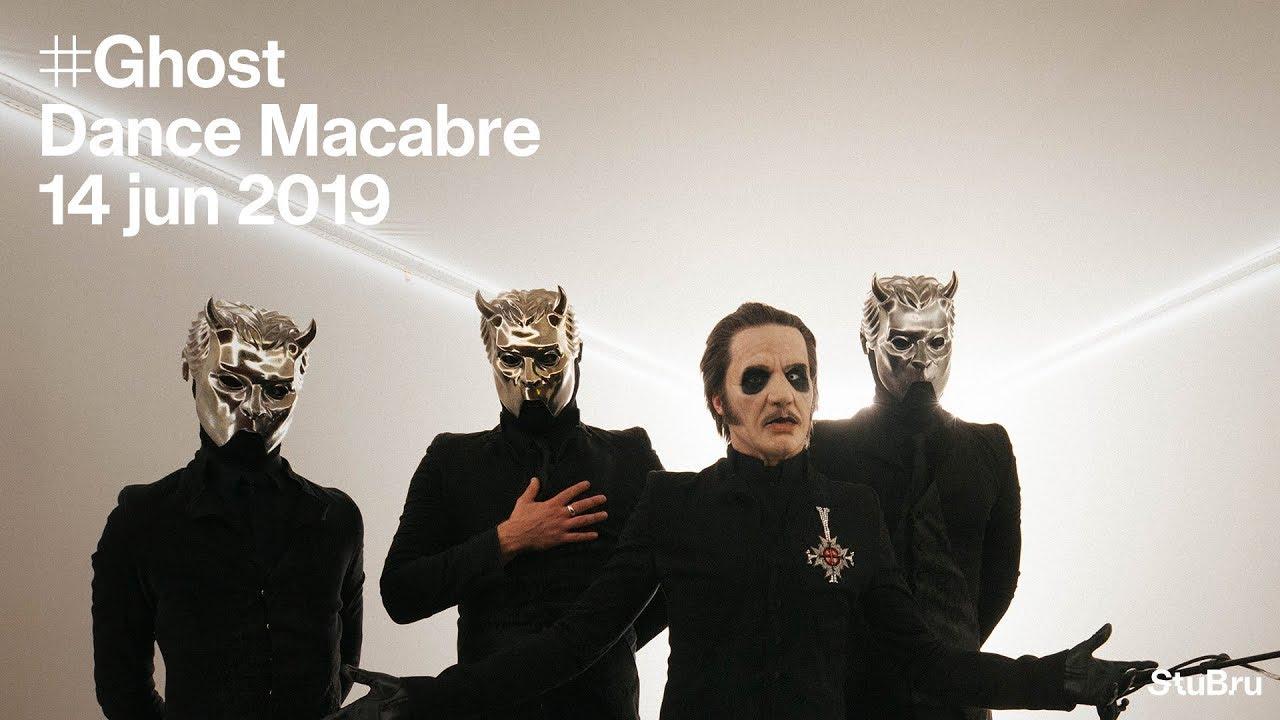 """Resultado de imagem para Confira versão acústica de """"Dance Macabre"""", do Ghost"""
