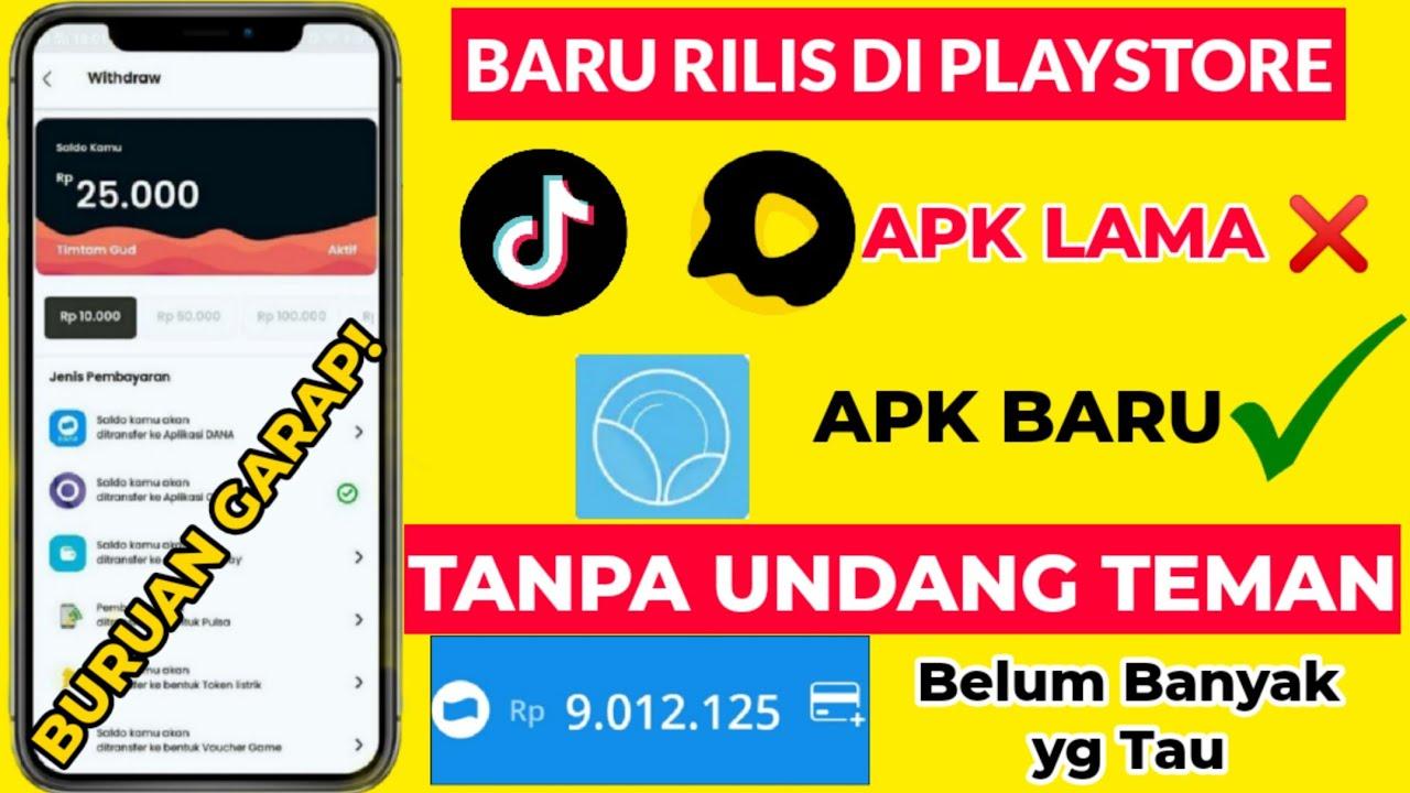 BARU RILIS ! RESMI PLAYSTORE PENGHASIL UANG | Aplikasi ...