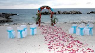 cheap beach wedding decoration ideas