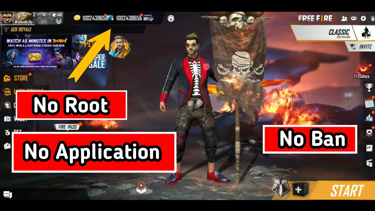 Free Fire Free Unlimited Diamonds Trick 2020 Tamil No Ban Unlimited Diamonds Youtube