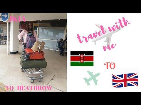 AIRPORT VLOG - NAIROBI KENYA TO LONDON  HEATHROW AIRPORT  UK // ETHIOPIAN AIRLINES
