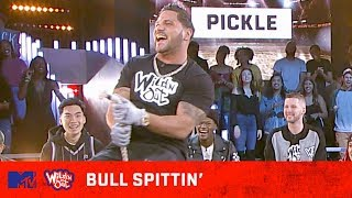Jersey Shore's Vinny & Ronnie + Karol G Go For A Wild Ride  🎯 Wild 'N Out | #BullSpittin