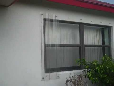 Home Hurricane Shutters For Sale Youtube
